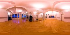 Small dance room