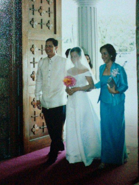 brides speech to her parents