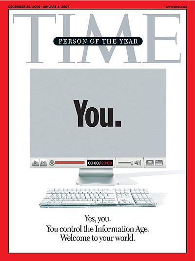 Time Person of the Year: You.
