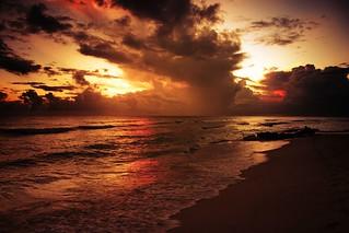 Clouds and Ocean, Barbados