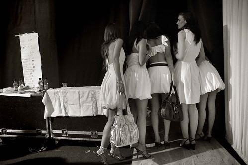 Backstage Chile Fashion Week by Juan Saez