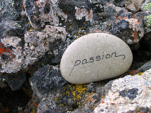 Passion Rock - found on Iron Peak summit