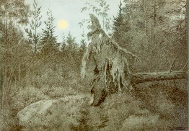 Theodor Kittelsen - Rasletasle