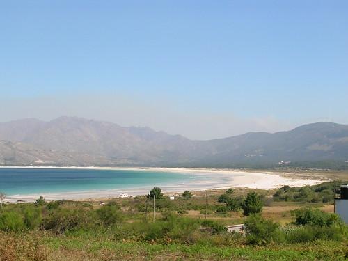 La playa de Carnota
