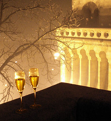 Champagne on the Bastion
