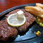 沖縄市泡瀬「ビッグハート泡瀬店」の特製ステーキ ビッグハート泡瀬店