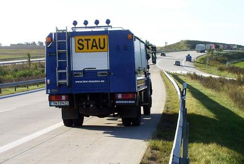 Gerätekraftwagen THW Dresden