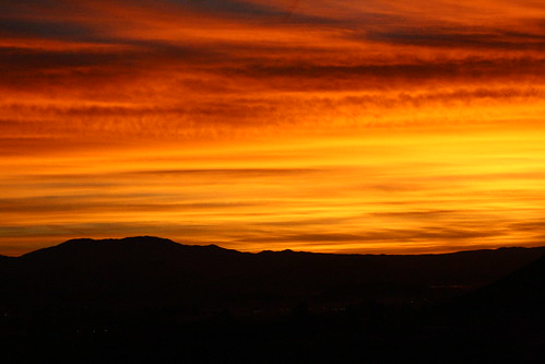 morning orange yellow sunrise murrieta