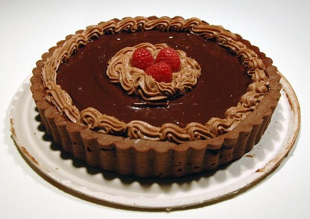 Bittersweet Chocolate Truffle Tart | startip | By: designwallah ...