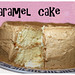 caramel cake with brown sugar