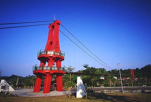 Q376竹崎親水公園弘景吊橋