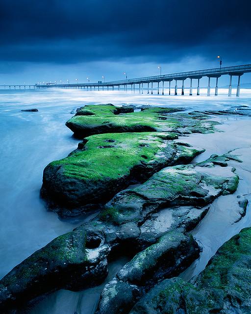 Ocean Beach: Moss Rocks At Ocean Beach