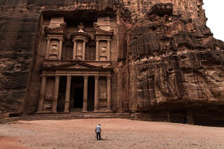 Image of Petra near Petra. jordan nabatanean petra unescoheritage maangovernorate treasury