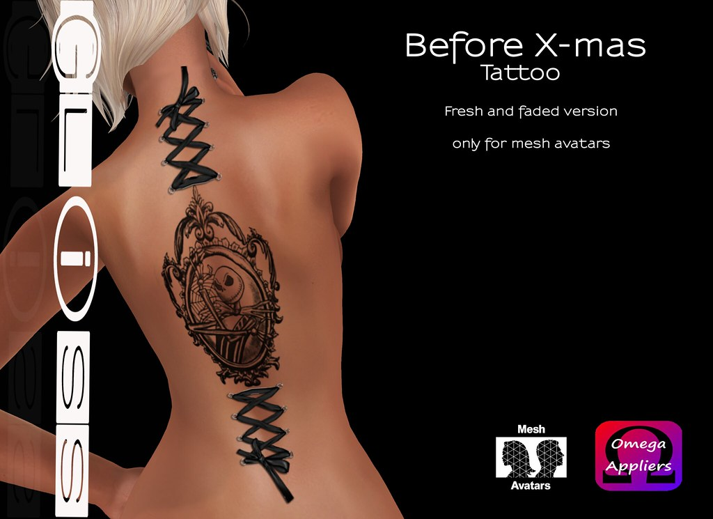 Gliss - Before Xmas Tattoo - SecondLifeHub.com