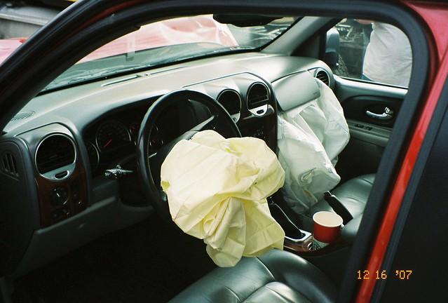 Used Car Airbag Deployed
