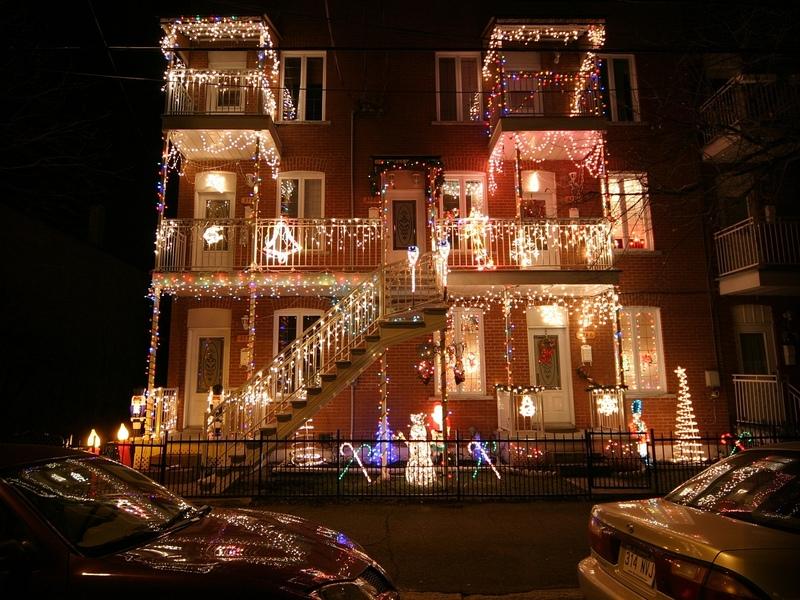 Noël / Christmas à Verdun (arrondissement de Montréal, Québec)