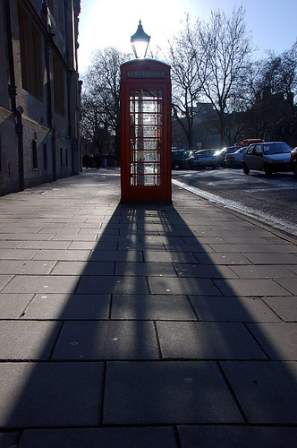 Phonebox + street light