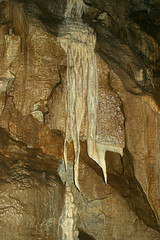 pit cave(0.0), caving(0.0), stalactite(1.0), geology(1.0), speleothem(1.0), cave(1.0), stalagmite(1.0),
