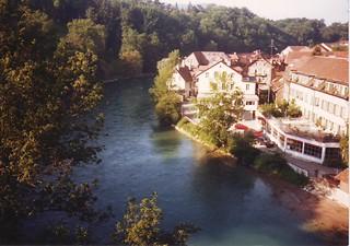 River Aar in Berne