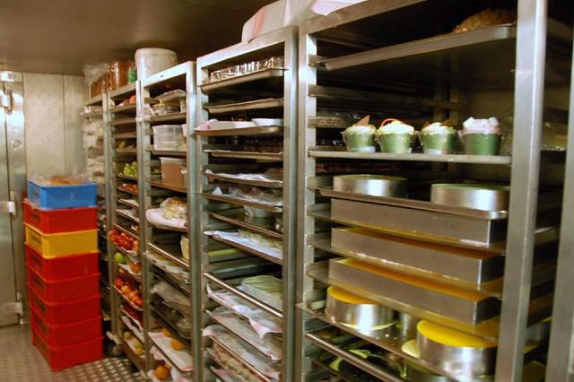 dessert room cold storage