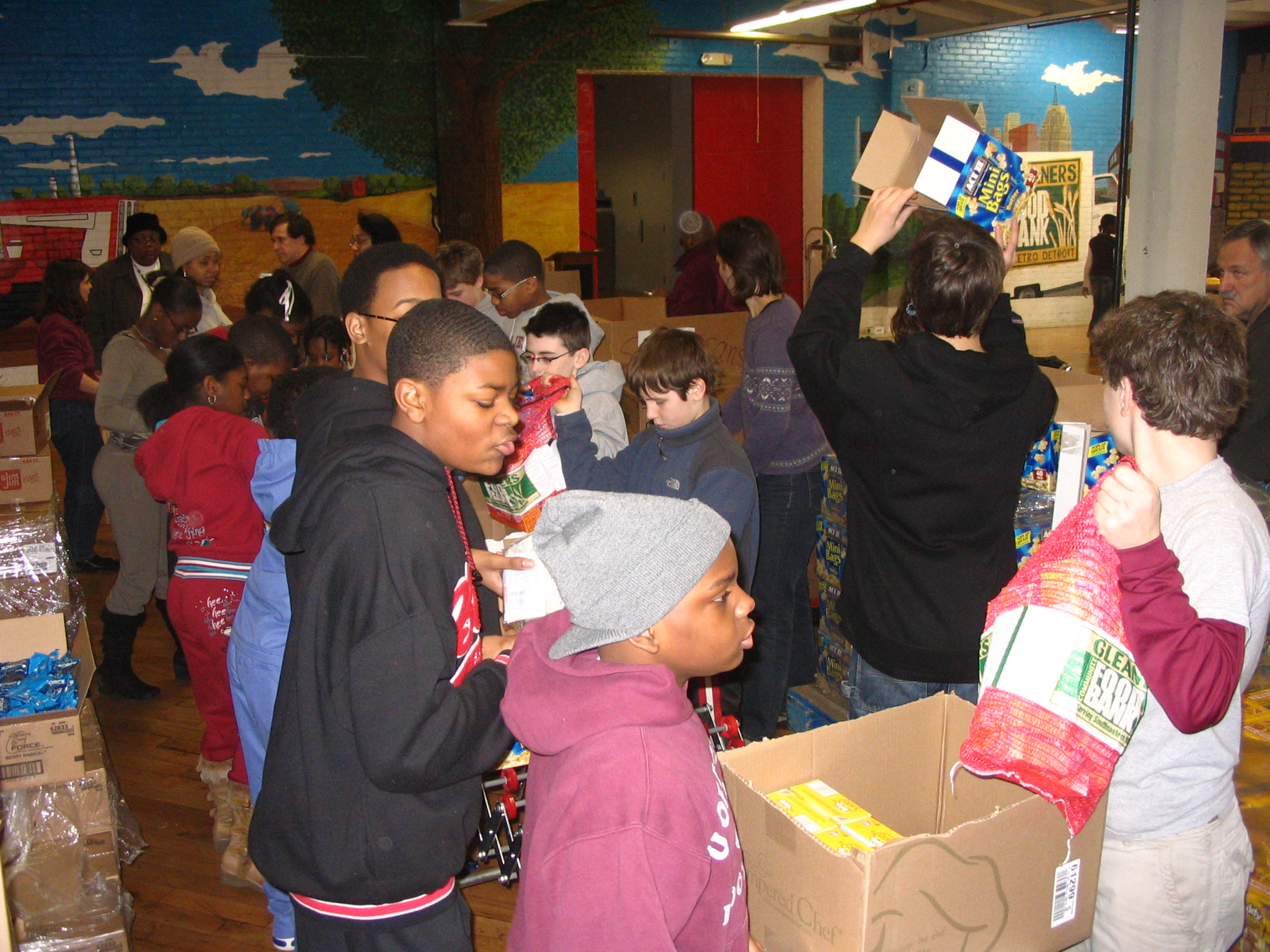 Gleaners Food Bank Of Indiana Inc