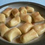 Süße Kartoffelklößchen mit Zimtzucker