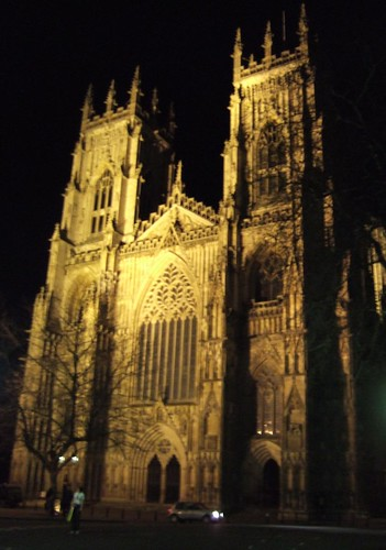 YORK MINSTER AT NIGHT  - 2