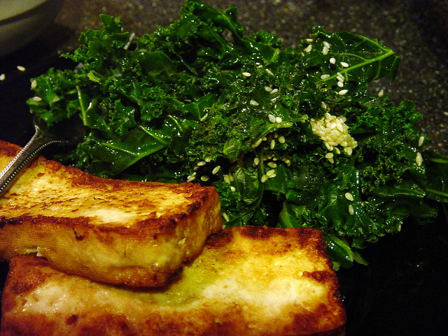 Lemon Sesame Kale and Tofu | Flickr - Photo Sharing!