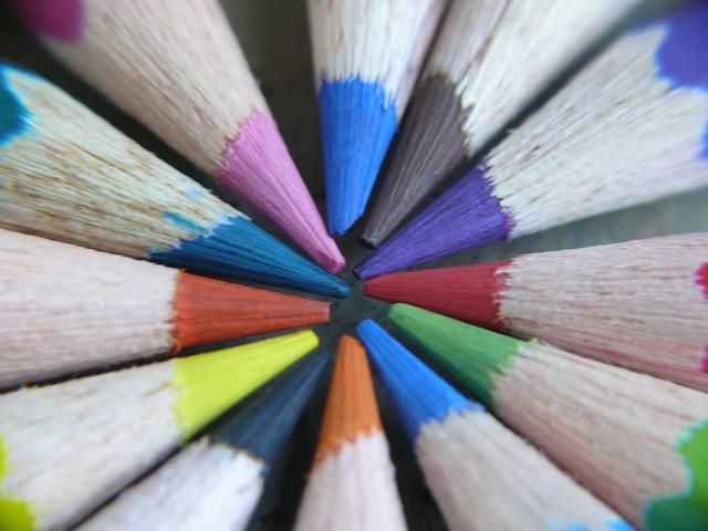 Macro Photography Colour Pencils Flickr Photo Sharing