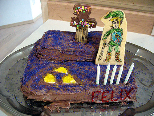 Legend Of Zelda Birthday Cake