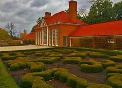 Greenhouse and Gardens -- Mount Vernon (VA) November 2016