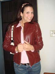 textile, leather jacket, clothing, leather, outerwear, hair, jacket,