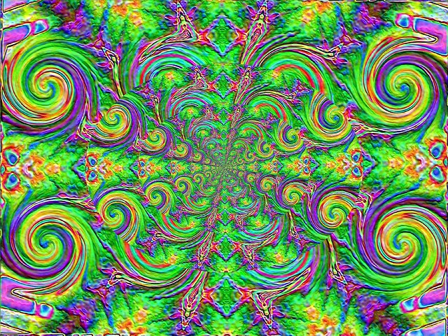 Endless psychedelic spirals