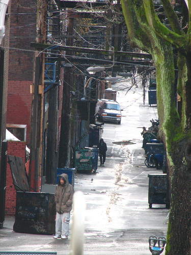 another alley from bus stop