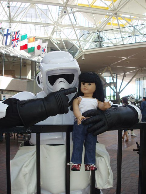 Inky and Stormtrooper