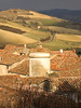 Rita Crane Photography / rooftops / winter / stone village / View of Lautrec & Farmlands, France by Rita Crane Photography