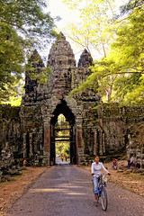 Gates at Angkor Thom