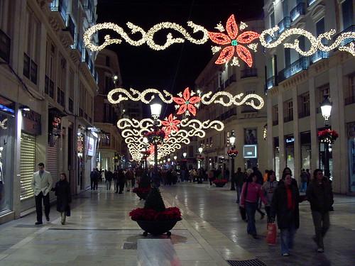 Navidad 2006 calle Larios