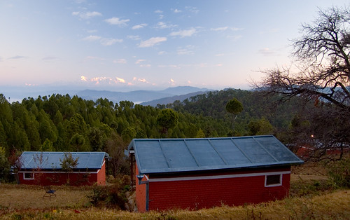 india mountain building forest sunrise landscape geotagged cabin places things hammock uttaranchal himalaya sonapani
