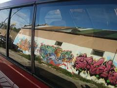 Reflecting back on graffiti