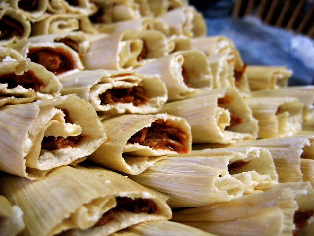 Tamale making day