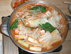 fish(0.0), kimchi jjigae(0.0), laksa(0.0), noodle(1.0), jjigae(1.0), noodle soup(1.0), food(1.0), dish(1.0), soup(1.0), cuisine(1.0), nabemono(1.0),