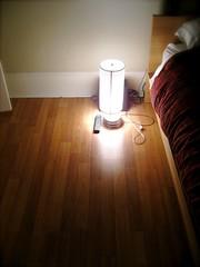 lamp floor bed