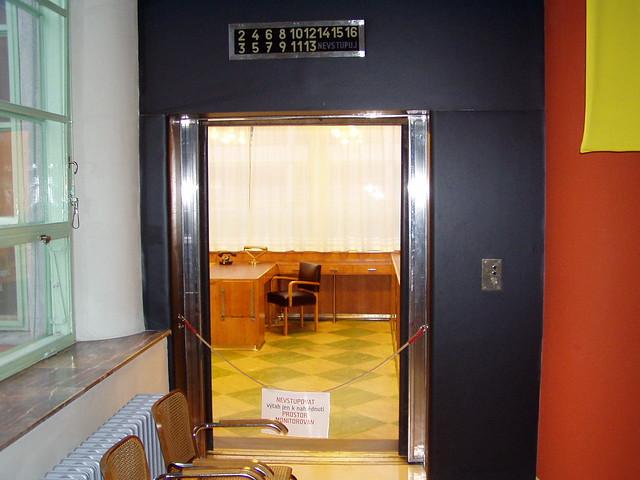 Bata's elevator