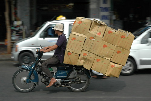 Bike of Burden in Vietnam