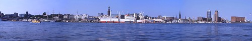 Hamburg Harbour Panorama | by m.prinke