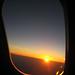 Airplane Sunrise by Ryan Vella