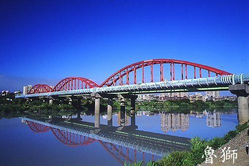 I372永福橋自來水輸送管橋