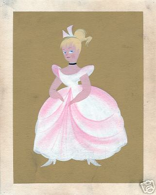 Cinderella design by Mary Blair
