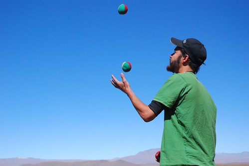 Juggling On The Altiplano